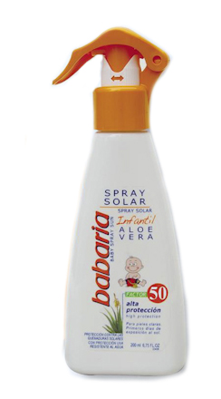 SPRAY SOLAR INFANTIL FACTOR 50